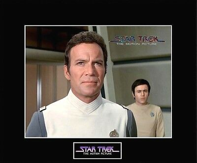 "STAR TREK The Motion Picture Capt. Kirk 8""x10"" Photo - 11""x14"" Black Matted"