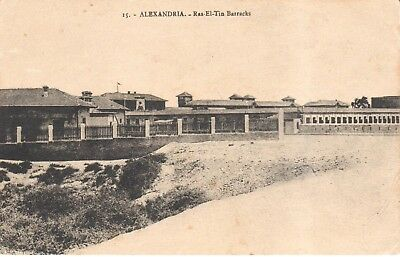 Carte Postale - Afrique - Egypte - Alexandria - Ras-El-Tin Barracks