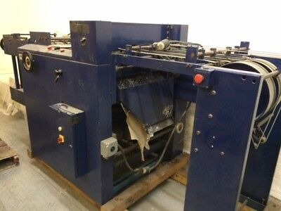 Lhermite EX610 Punch, 1987, 220v Includes: 2:1 DoubleD and 4:1 Round hole punch