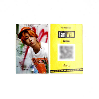 [Stray Kids]2nd mini album I am WHO Official QR Photocard/BEHIND ver./HAN