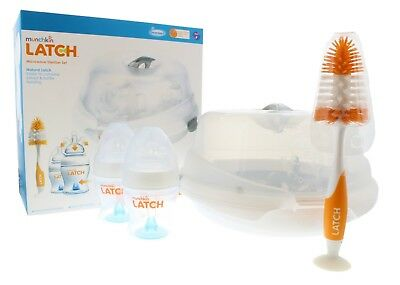 Munchkin Latch Microwave Steriliser 6 Piece Set