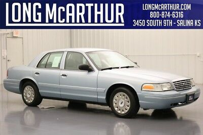 Ford Crown Victoria 4.6 V8 LOCAL TRADE IN FULLY INSPECTED POWER SEAT 2003 Standard Used 4.6L V8 16V Automatic RWD Sedan Premium