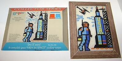 Vintage Tupperware Tuppertoys Men In Space Snapics Collector Set No 210 Complete