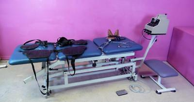 Chattanooga T-700 Triton Traction Machine 200 lb HI/LO Chiropractor Table System