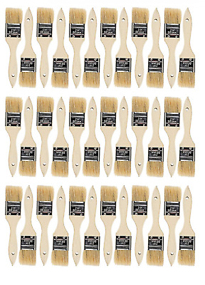 36 Pk- 1.5 inch Chip Paint Brushes for, Stains,Varnishes,Glues,Gesso