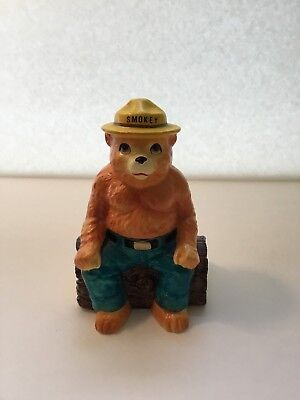 Vintage Smokey The Bear Coin Bank