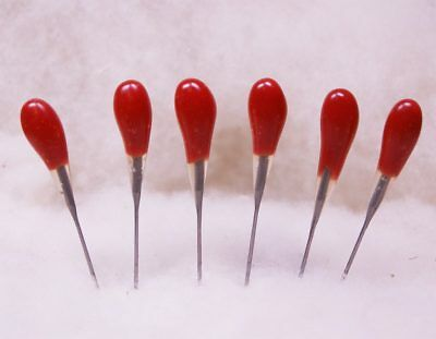 Felting Needle Tool Six Pack Red 38 Star Multi Purpose