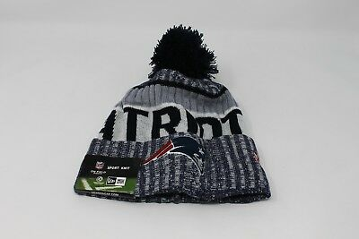 49a5457f79c79 ... clearance new era mens new england patriots 2017 sideline official sport  knit hat b51e0 71657 ...