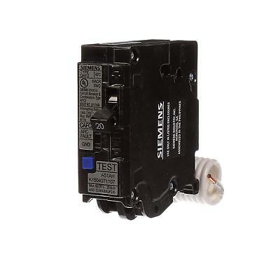 Siemens QA120AFC 20-Amp Single Pole 120-volt Plug-On Combination AFCI Breaker
