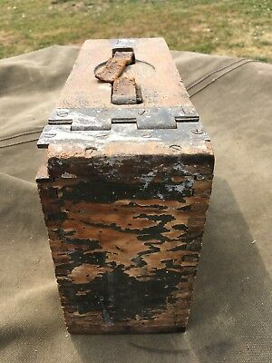 WWI M1917 USGI WW1  Wooden Ammunition Box World War 1