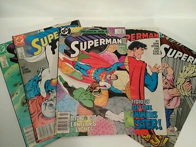 VINTAGE 1988 Superman comics #14-18 ** READERS OR PLACEHOLDERS, NOT...