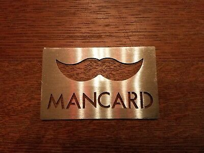 Tapiture Authentic *MANCARD* Bottle Opener Man Card seen on the Chive