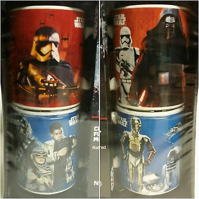 """Disney Star Wars Rogue One """"FOUR MUG GIFT SET"""" With HOT COCOA MIX """"COLLECTIBLE!"""""""