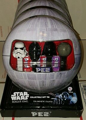 Star Wars Rogue One Death Star PEZ Collectible Gift Tin Set of 4 LimitedEdition