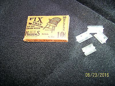 Vintage Chair Loose Leg Quick-Fix Kit 2 Different Sizes New In Old Original Box