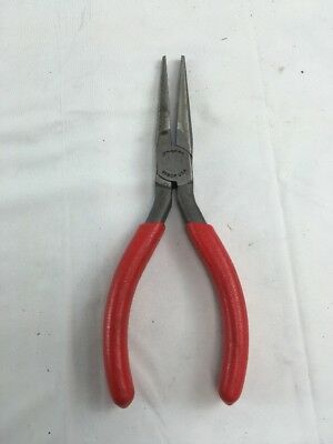 """Snap-on Tools 96BCP Needle Nose Pliers 7"""" Red"""