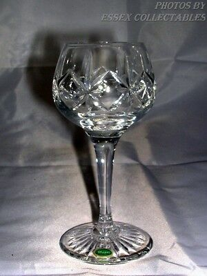 Stuart Crystal Vintage Sherry Glass Original Sticker