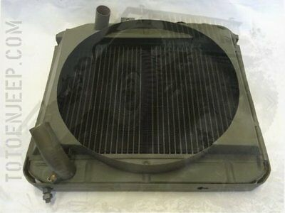 🔻 A1214F  Radiateur Ford Gpw Eau Cuivre Refroidissement ... Jeep Willys Us Ww2