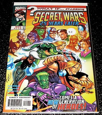 What If 114 (9.2) Secret Wars 25 Years Later - Marvel Comics