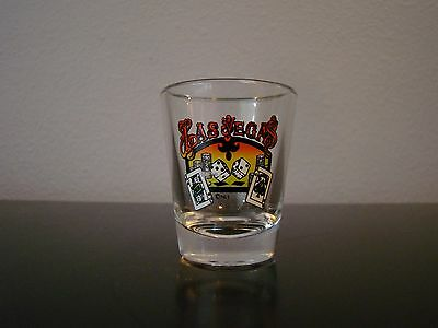 Las Vegas Dice and Cards Shot Glass