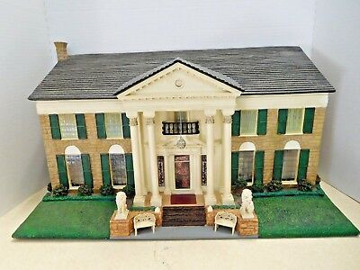 rare hawthorn village elvis presley large graceland mansion 8