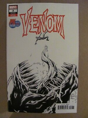 Venom #3 Marvel 2018 Series 1st app Knull SDCC PX Previews Exclusive Variant 9.6