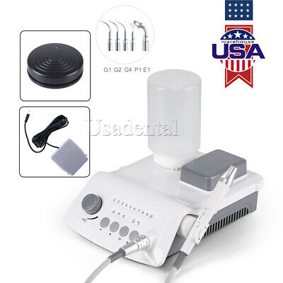 USA Wireless Dental Ultrasonic Scaler + LED Detachable Handpiece & Bottle VRN-A8