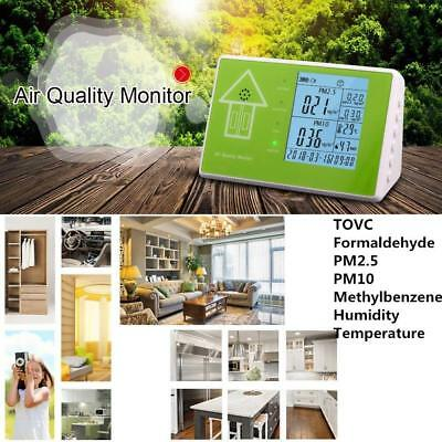 10 in 1 Multifunctional Indoor/Outdoor Air Quality Monitor Accurate Testing NEW
