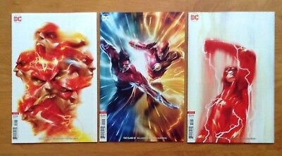 Flash 50,51,52 Cover B Variants Francesco Mattina & Dell Otto Covers DC 2018  NM
