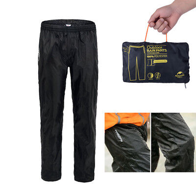 Waterproof Rain Over Trousers Pants Hiking Fishing Walking Riding For Men Women