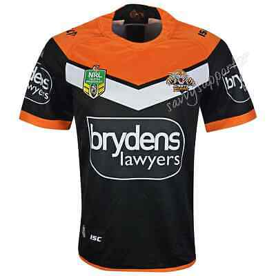 Wests Tigers 2018 NRL Home Jersey Mens, Kids Toddler Sizes BNWT