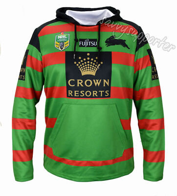 South Sydney Rabbitohs 2017 NRL Home Jersey Hoodie Hoody Adults & Kids Sizes