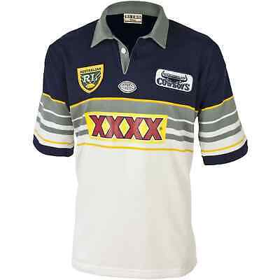 North Queensland Cowboys 1995 NRL Retro Jersey 'Select Size' S-5XL BNWT