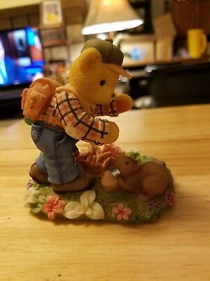 """Cherished Teddies Cameron """"Our friendship is building with each new adventure"""""""
