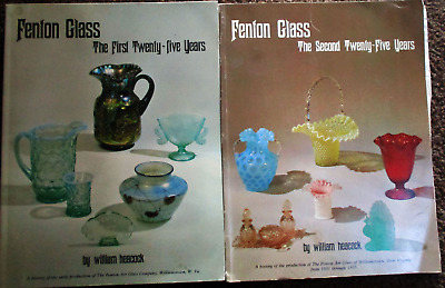 Books FENTON GLASS First 25 years, 1994 & 2nd 25 years 1995. Soft Covers B11