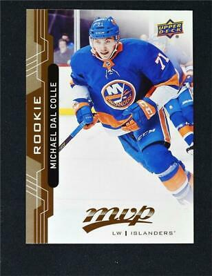 2018-19 18-19 UD Upper Deck MVP Base Rookies #221 Michael Dal Colle RC