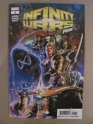 Infinity Wars Prime #1 Marvel 2018 Death of Thanos 1st Print 9.6 Near Mint+