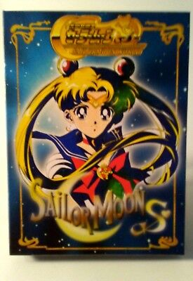 Sailor Moon S Sailor Moon World TV Series 4 Disc DVD Collection All Regions