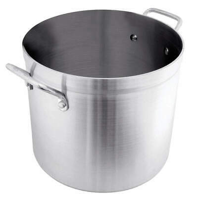 CRESTWARE Stock Pot,60 qt,Aluminum, POT60