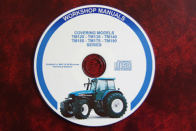NEW HOLLAND TM Series Tractor Workshop Service Repair Manual+ Electrics Complete
