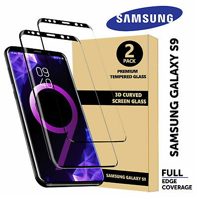 5D Curved Full Cover Tempered Glass Screen Protector Samsung S6e S7 S7e S8 S8+S9
