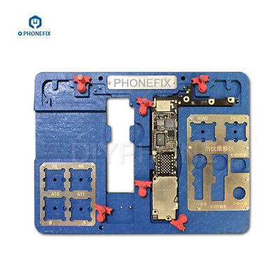 Multi-Function 8 IN 1 for IPhone 6 6S 7 8 8p PCB Holder Motherboard Test Fixture