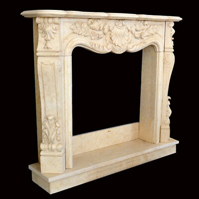 Fireplace Marble Yellow Egypt Frame Style Classic Yellow Marble Fireplace Frame