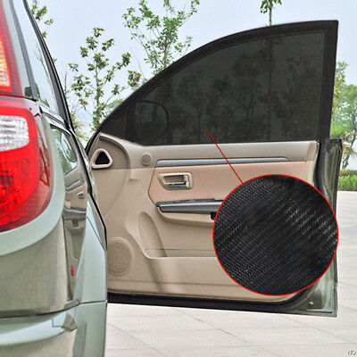 2Pcs Car Sun Shade Cover blind mesh Max UV Protection for Rear Side Window kids