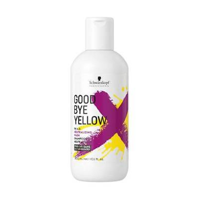 Schwarzkopf Goodbye Yellow Shampooing Neutralisant pH4.5 300ml