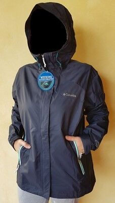 COLUMBIA Rainstormer Jacket donna - tg. XL - colore Blu scuro