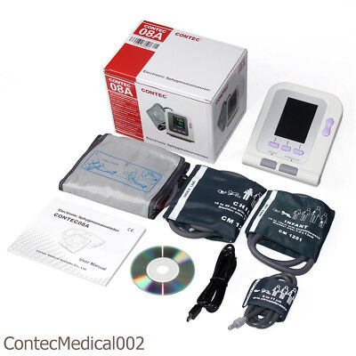 Infant Child Adult Digital Blood Pressure Monitor NIBP SPO2 PR Machine Arm Cuffs