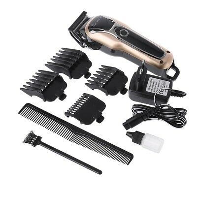 Professional Hair Cordless Clipper Electric Cutter Haircut Machine Beard Trimmer