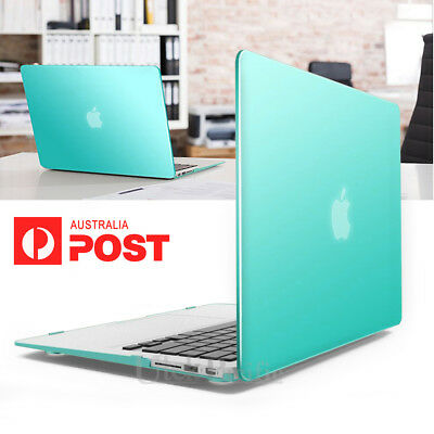 """Frosted Case Cover Tiffany Blue For Apple Macbook Air 13"""" Pro 2016 2018 Touchbar"""