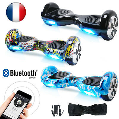 6.5'' Hoverboard Gyropode Electrique Scooter Self Balancing Overboard Bluetooth